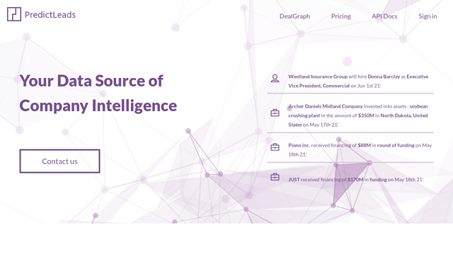 PredictLeads API koppeling