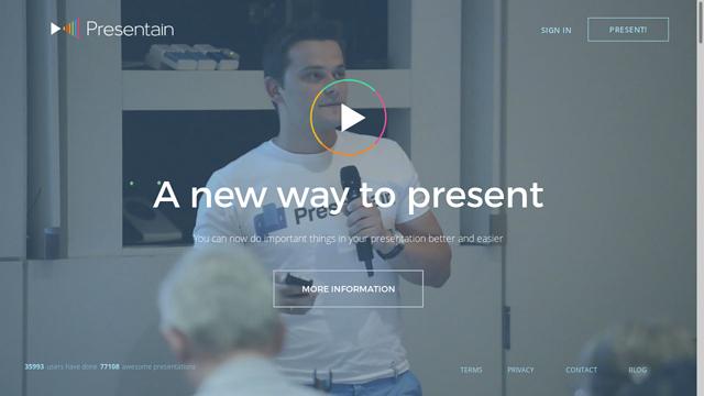Presentain API koppeling