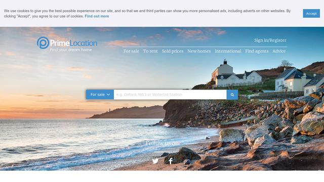 Prime-Location API koppeling