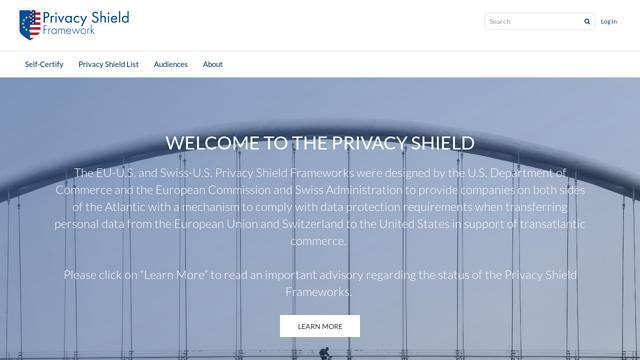 Privacy-Shield API koppeling