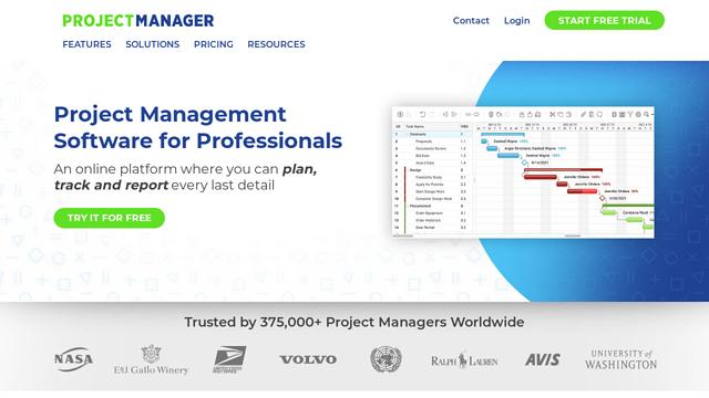 ProjectManager API koppeling