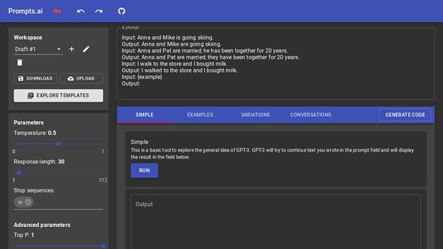 Prompts.ai API koppeling