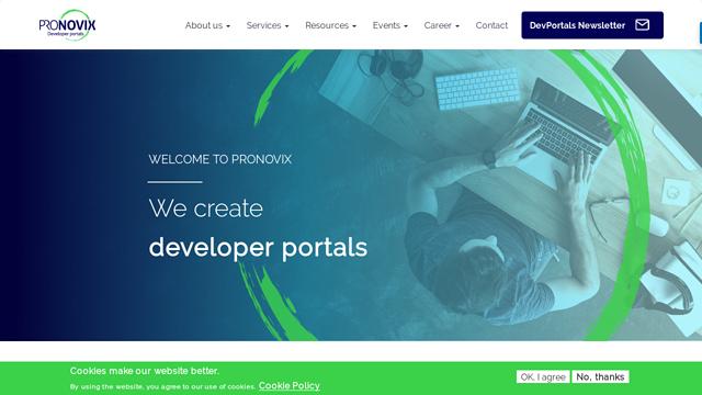 Pronovix API koppeling