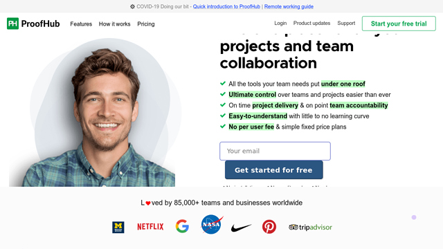 ProofHub API koppeling
