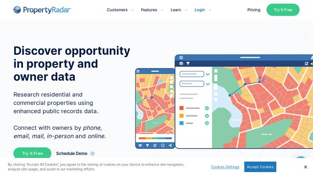 PropertyRadar API koppeling