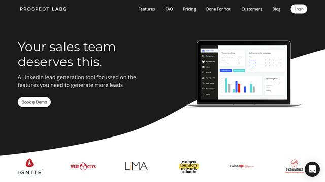 Prospect-Labs API koppeling