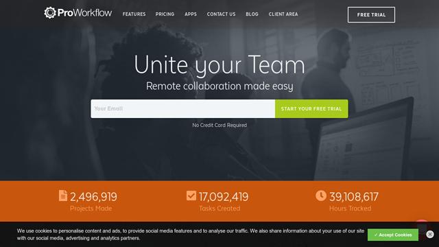 ProWorkflow API koppeling