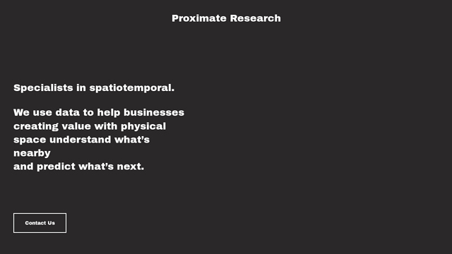 Proximate API koppeling