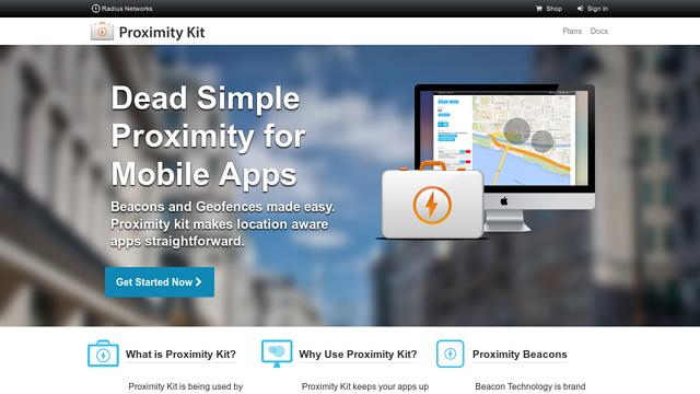 Proximity-Kit API koppeling