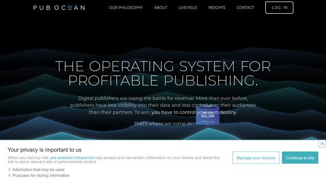 Pubocean API koppeling
