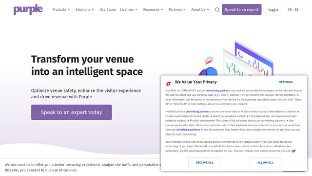 Purple.ai API koppeling