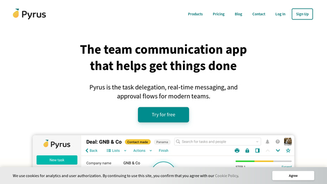 Pyrus API koppeling
