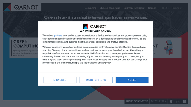 Qarnot-computing API koppeling
