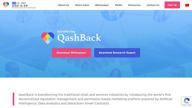 QashBack API koppeling