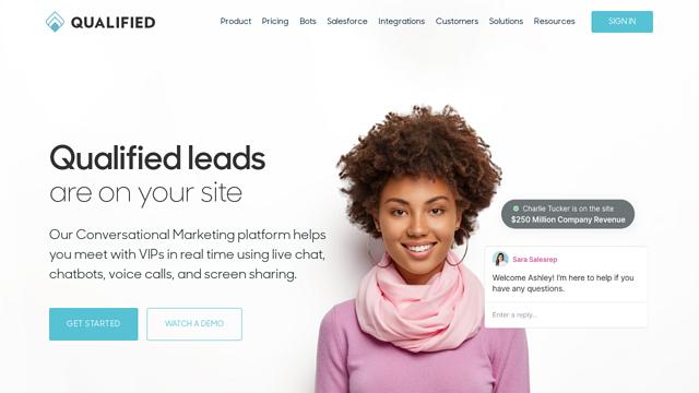Qualified.com API koppeling