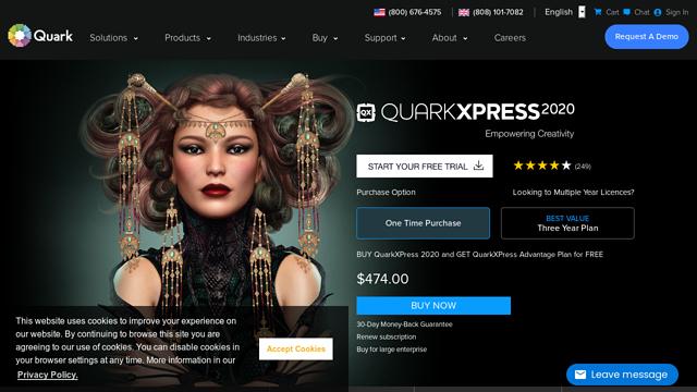 Quark API koppeling