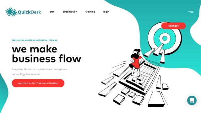 QuickDesk API koppeling