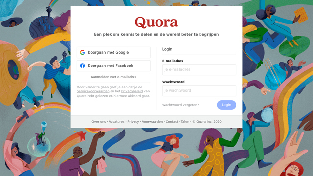 Quora API koppeling