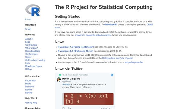R API koppeling