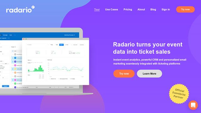 Radario API koppeling