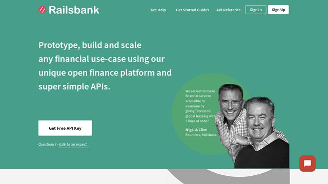 Railsbank API koppeling