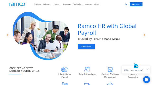 Ramco-Systems API koppeling