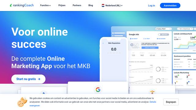 rankingCoach-GmbH API koppeling