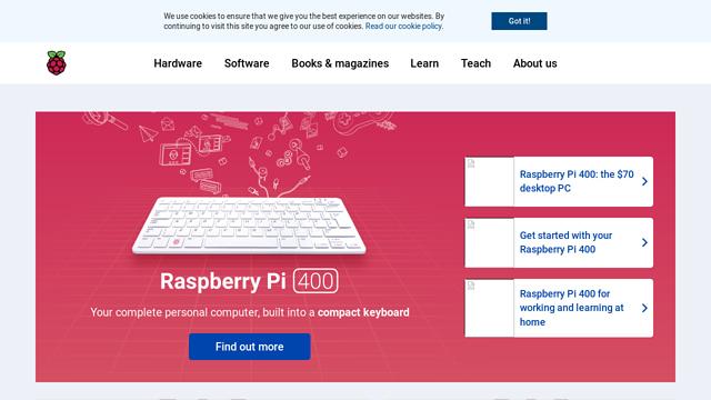Raspberry-Pi-Foundation API koppeling