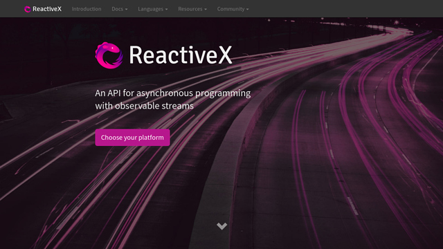 ReactiveX API koppeling