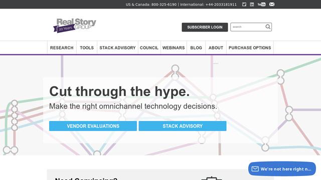 Real-Story-Group API koppeling