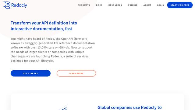 Redoc.ly API koppeling