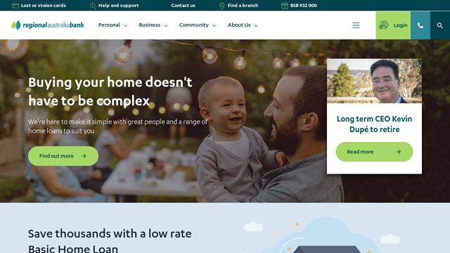 Regional-Australia-Bank API koppeling