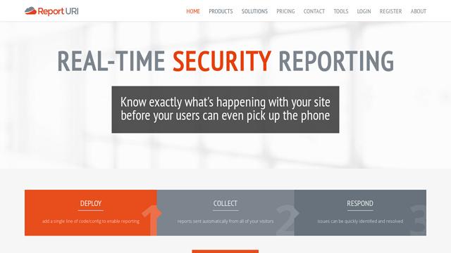 Report-URI API koppeling