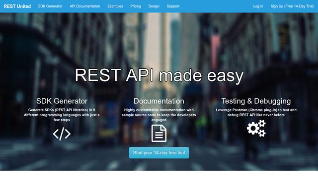 REST-United API koppeling