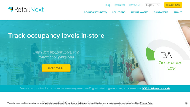 Retail-Next API koppeling