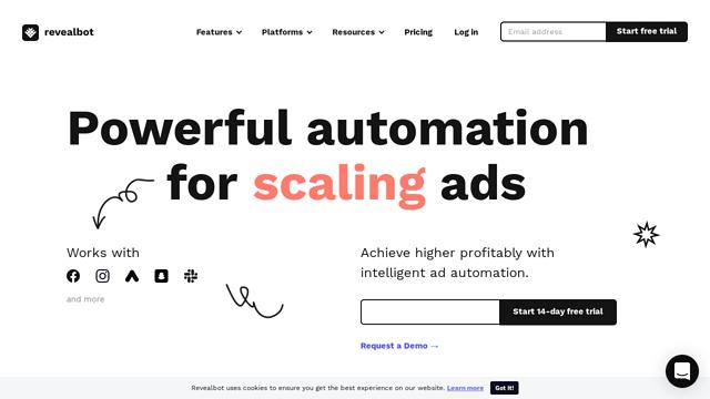 Reveal-Bot API koppeling