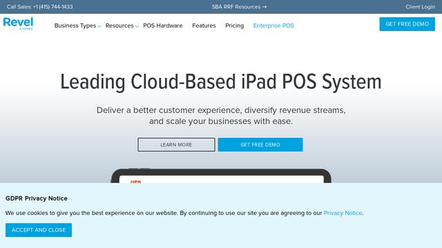 Revel-Systems API koppeling