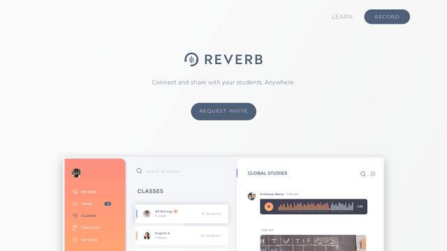 Reverb API koppeling