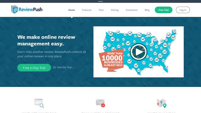 ReviewPush API koppeling