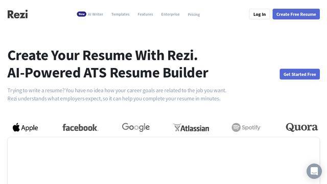 Rezi API koppeling
