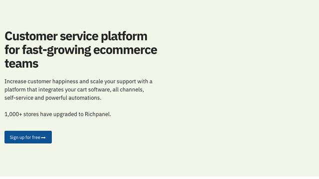 Richpanel API koppeling