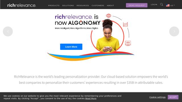 RichRelevance API koppeling