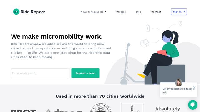 Ride-Report API koppeling