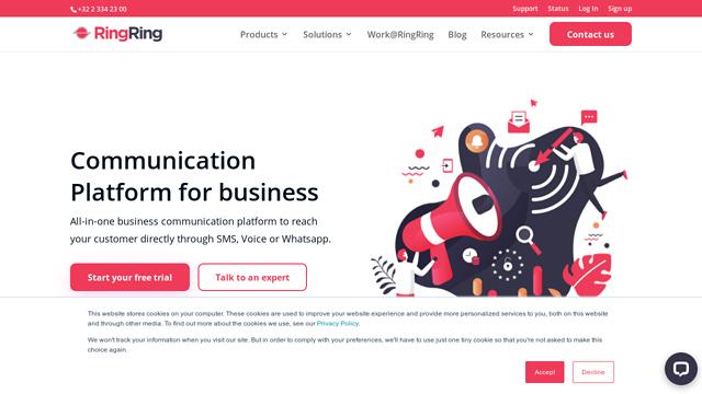 RingRing API koppeling