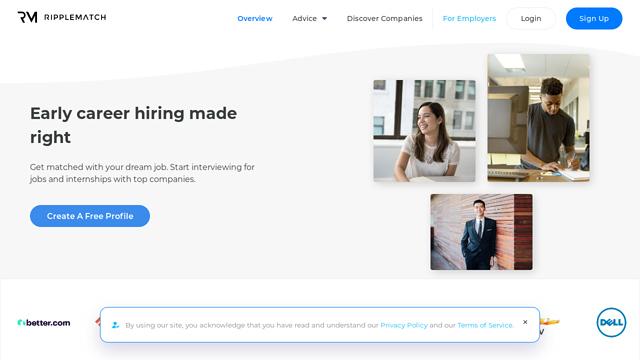 RippleMatch API koppeling