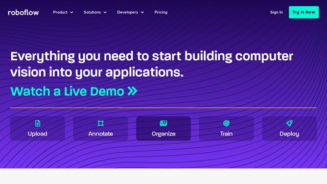 Roboflow API koppeling
