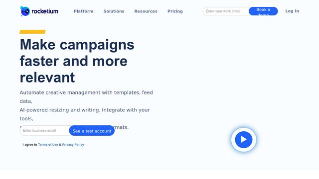 Rocketium API koppeling
