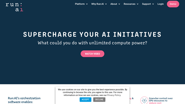 Run:AI API koppeling