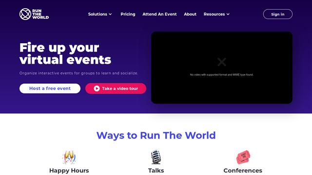 Run-The-World API koppeling