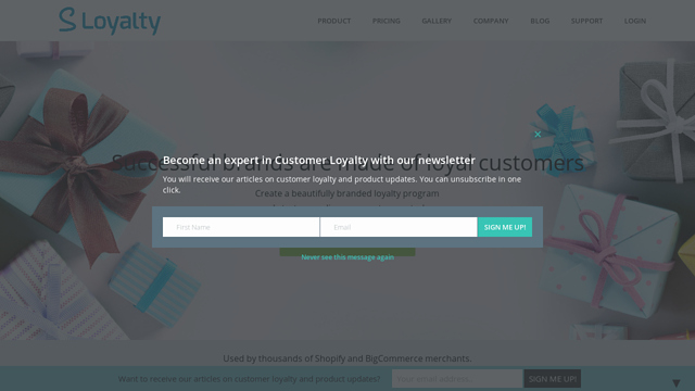 S-Loyalty API koppeling